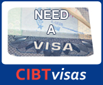 Need a Visa? CIBT travel visas