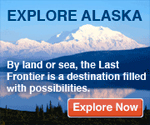 Explore Alaska. By land or sea, the Last Frontier is a destination filled with possibilities.